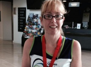 Judith Thomas: 21 races for a £21,000 target