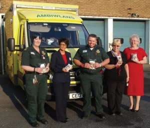 Llanelli ambulances: Making a difference.