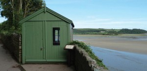 Dylan Thomas' writing shed: A replica has earned its creators a nomination.