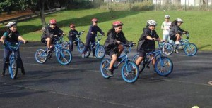On your bike: School cycling programme.