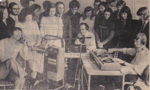 Radio Glangwili: The first broadcast was on Christmas Day in 1972.