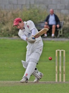Iwan Rees: 36 and two wickets for Llanelli skipper