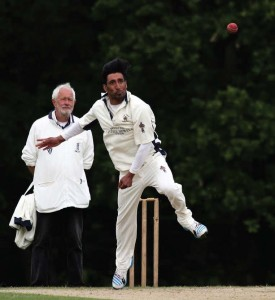 Gihan Fernando: Two wickets in disappointing quarter final loss. (Pic. John Davies)