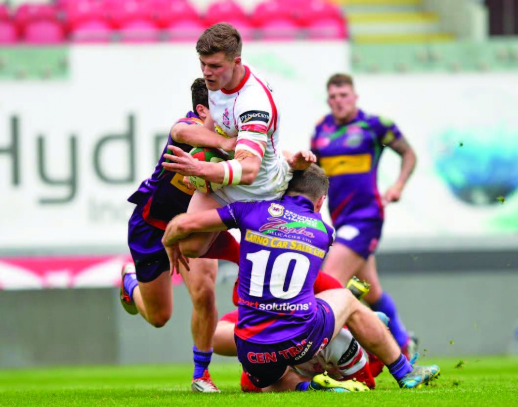 Josh Lewis: 10 points for Llanelli Fly Half (Pic. Riley Sports)