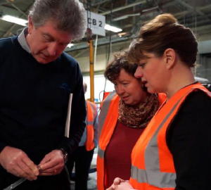 Visiting Llanelli: Candidate and leader at Calsonic