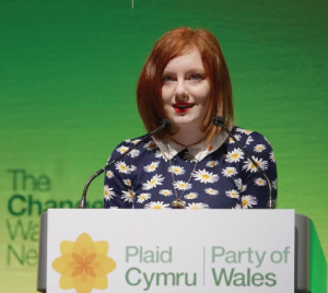 "Lucie Wiltshire : ""Leanne Wood made me feel excited about politics"""