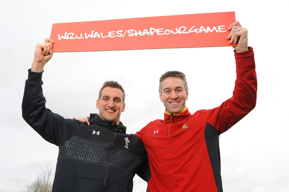 Shape our Game: Wales' two longest serving captains Sam Warburton and Ryan Jones