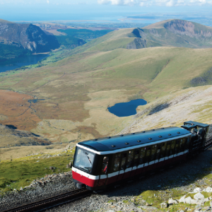 Epic view: Snowdon mountain railway