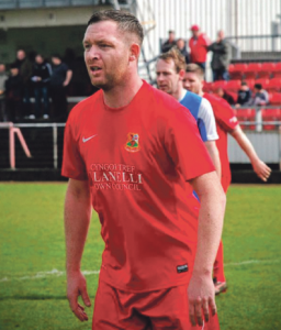 Steve Stone: 92nd minute winner from Llanelli Town midfielder