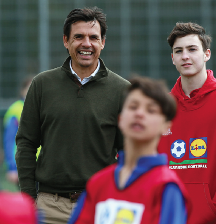 Chris Coleman: With a young school Director of Football