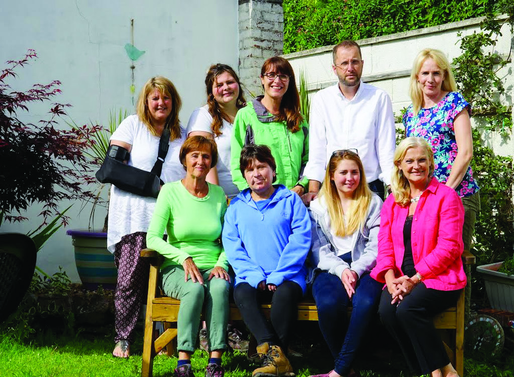 Their boots are made for walking: Staff and volunteers from Llanelli Mind