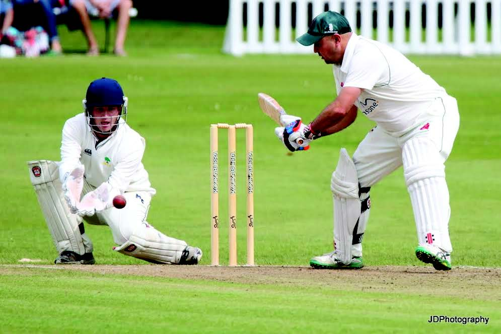Well beaten: Although Captain Alun Evans scored 67, his side were thrashed (Pic. John Davies Photography)