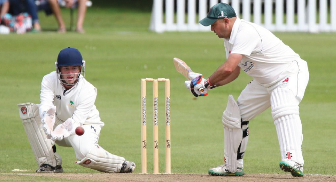 Double: Alun Evans' 35 and two wickets helped Ammanford complete the double over Port Talbot (Pic. John Davies Photography)