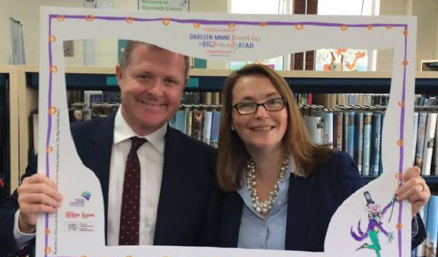 Launching the Big Friendly Read: Kirsty Williams