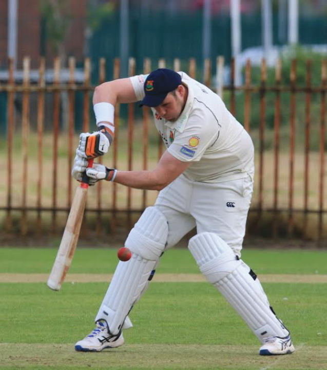 In form: Tom Jones hit five fours and two sixes in a score of 42