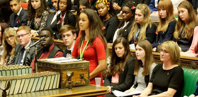 Youth Parliament at Westminster: The need for a devolved Welsh Youth Parliament was discussed on Tuesday