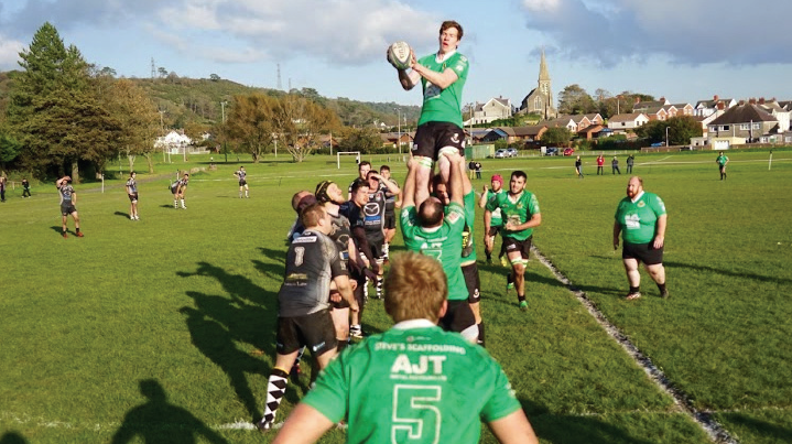 Uncontested: Burry Port secure line out ball
