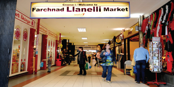 Llanelli Market: Welcoming new