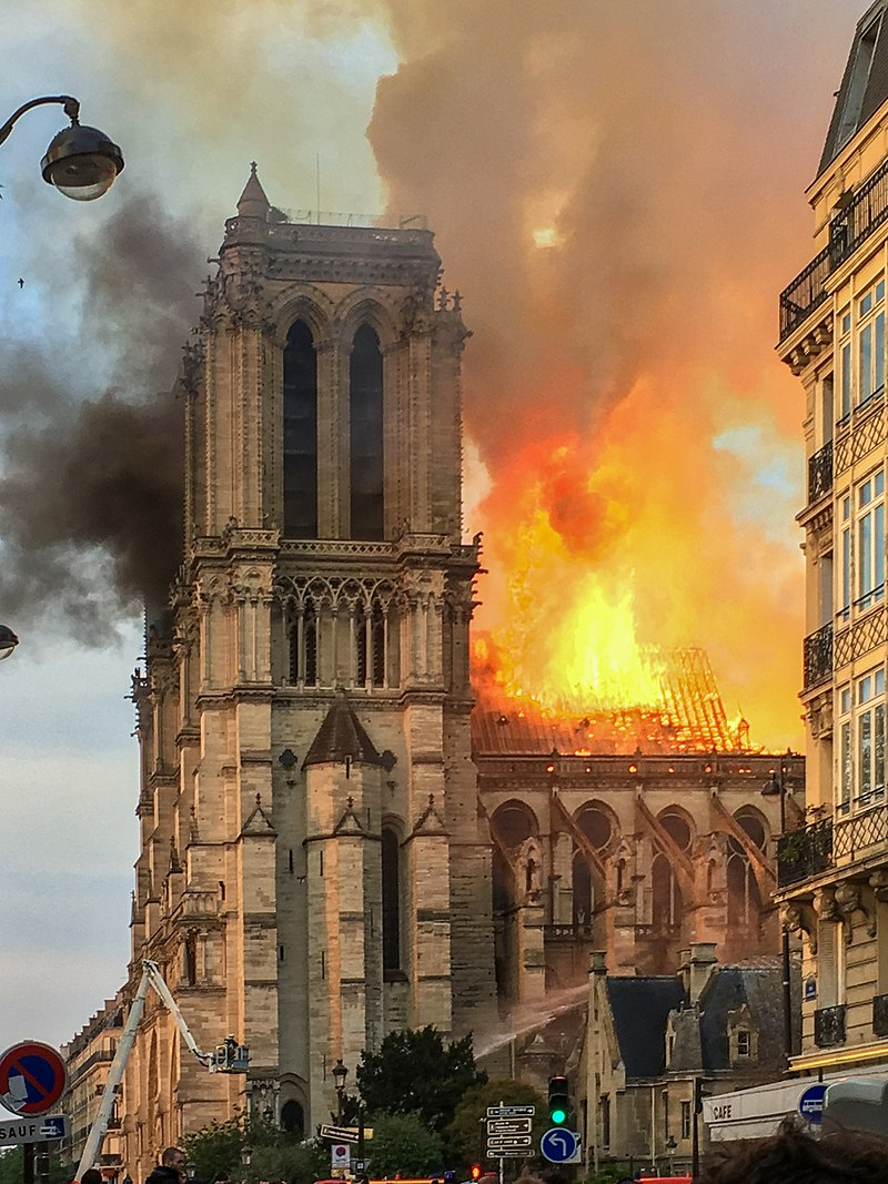 West Wales responds to Notre-Dame 'tragedy'