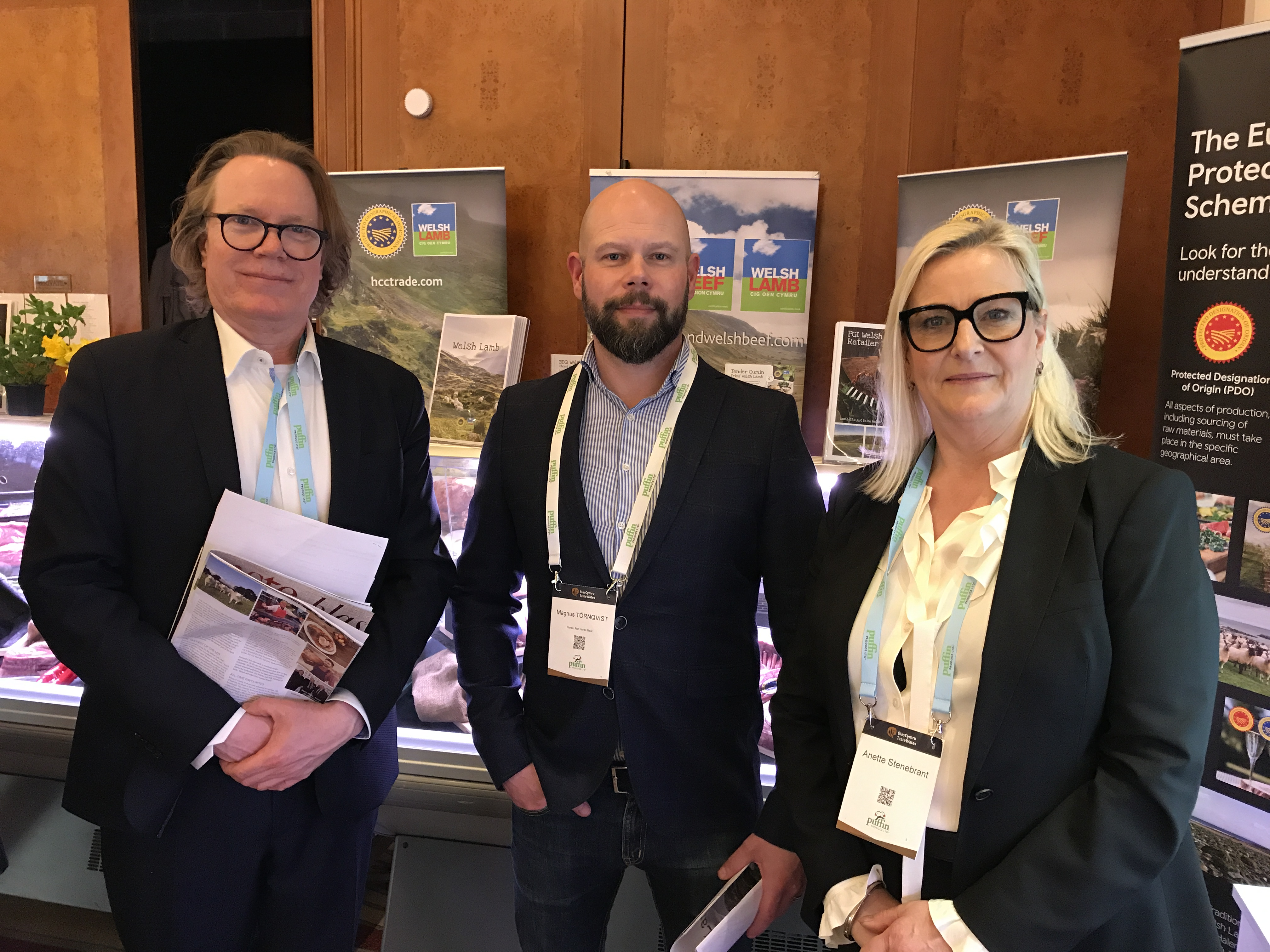 HCC19031 – HCC hosts influential importers at Taste Wales – 1